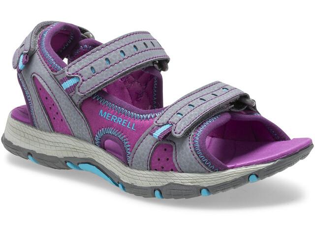 Merrell Panther 2.0 Sandals Kids, grey